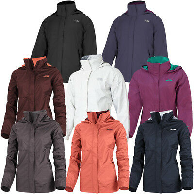 The North Face Women Resolve Damen Jacke Outdoor Regenjacke Windjacke Freizeit