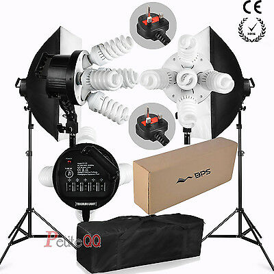 1900W Continuous Soft Box Studio Lighting Kit Photography Softbox Photo CE RoHS