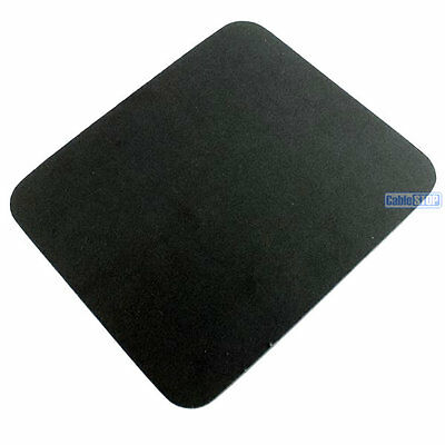 BLACK Desktop PC Mouse Mat 6mm SAME DAY DISPATCH UK