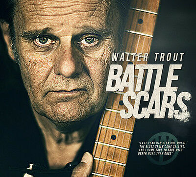 Walter Trout - Battle Scars [New CD]