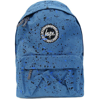 8252a2d363 Hype Rucksack Bag - Splatter Airforce Blue with Black and Navy