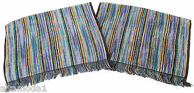 Missoni Home Branded Pack Owen 170 Two Hand Towels- Due Ospiti Imbustati Cotone