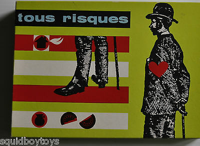 French BOARD GAME  TOUS RISQUES vintage Game MIRO 1970s