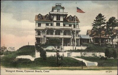 Crescent beach ct bay view ave homes c1905 postcard 622 picclick crescent beach ct ninigret house c1905 postcard sciox Choice Image