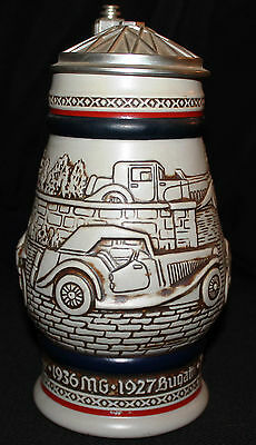 Beautiful Antique Autos Stein Handcrafted In Brazil For Avon 1979
