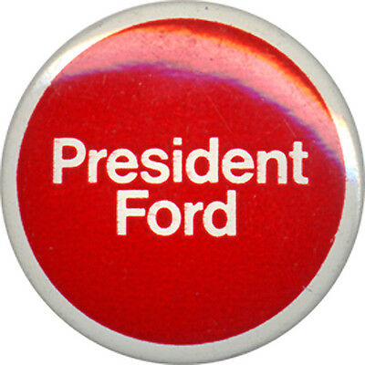 Official 1976 Gerald Ford Campaign Logo Button (3938)