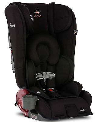 Diono Rainier Midnight Convertible Booster Folding Child Safety Car Seat NEW