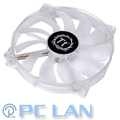 Thermaltake Pure 20 Blue LED Silent Cooling Case Fan 200mm 800RPM 3-Pin 20cm