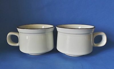 Two Denby Everyday Tea Cups