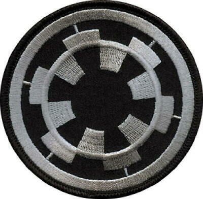 Star Wars Imperial Empire Logo Embroidered Jacket Patch, NEW UNUSED
