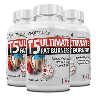 T5 Ultimate Fat Burners Weight Loss Diet Slimming Pills Tablets Strongest Legal