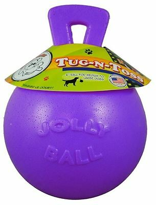 "Horsemens Pride - Tug-n-Toss Jolly Ball 6"" Purple"
