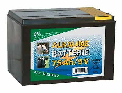 Corral - 75 Ah 9V Alkaline Dry Electric Fencing Battery