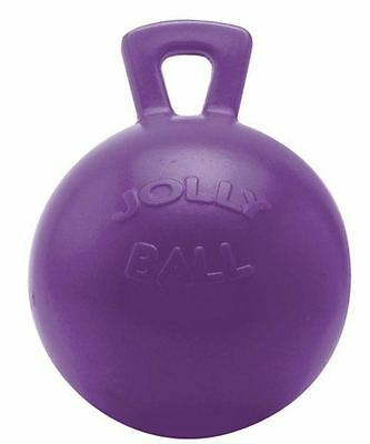 "Horsemens Pride - Dual Jolly Ball 8"" Purple"