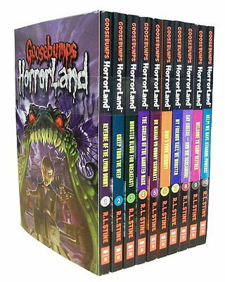 Goosebumps HorrorLand set 10 Books Set Collection Pack by R L STINE