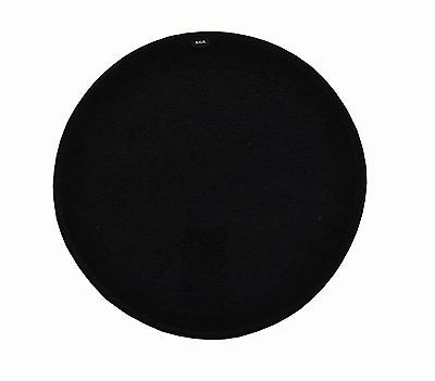 Aga Cookshop All Black Chef's Pad Lid Covers - Single W3393