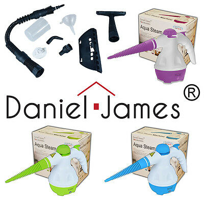 Steam Cleaner Hand Held Steamer Kitchen Windows Tiles Grout Oven Grease Cleaning
