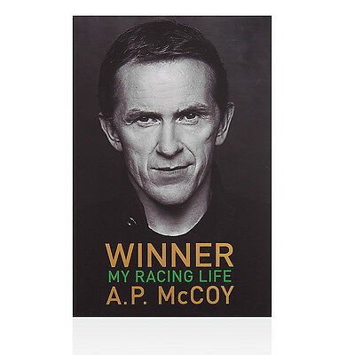 A.P. McCoy Signed Book - My Racing Life Autograph
