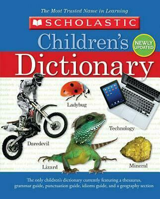 Scholastic Children's Dictionary (2013) by Inc. Scholastic (English) Hardcover B