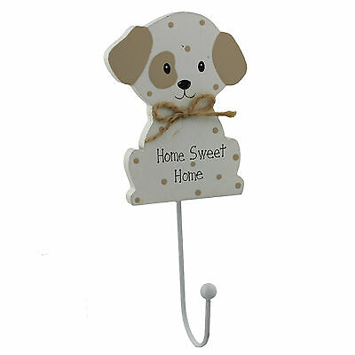 """""""Home sweet Home"""" Best of Breeds Cat or Dog wooden wall hook BB267/8"""