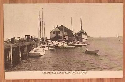 Steamboat Landing, Provincetown 1911