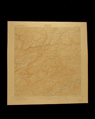 Wise Virginia vintage 1944 original USGS Topographical chart