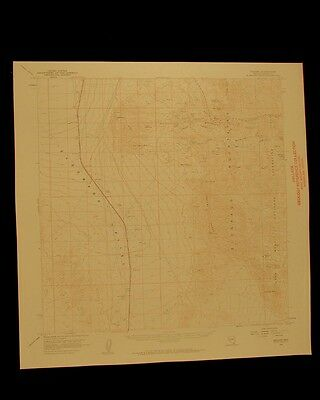 Nelson Nevada vintage 1959 original USGS Topographical chart