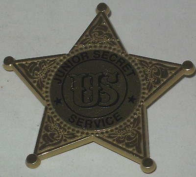 "2.25"" Junior Secret Service Badge - Plastic"