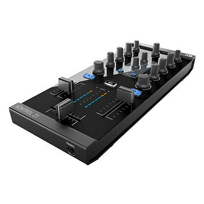 Native Instruments Z1 Integrated DJ Controller, Audio Interface, 2 Mixer Channel