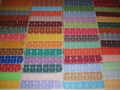SCENTSY STICKERS Rub & Smell Scent of the Month (36 count) CONSULTANT SUPPLIES