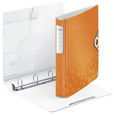 LEITZ Ringbuch Active WOW SoftClick, A4, orange, 4 D-Ring