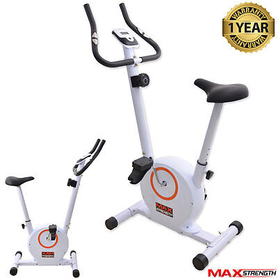 Exercise Bike Cycle Fitness Cardio Workout 8 Level Trainer 4kg Magnetic Wheel