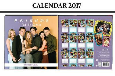 Friends Tv Official 2017 Calendar + Friends Fridge Magnet