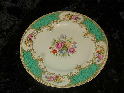 VINTAGE REPLACEMENT CHINA Side Plate Coronation Rose Green Myott & Son 1930s