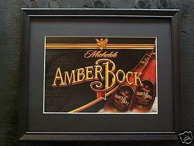 Michelob Amber Bock  Beer Sign   #139