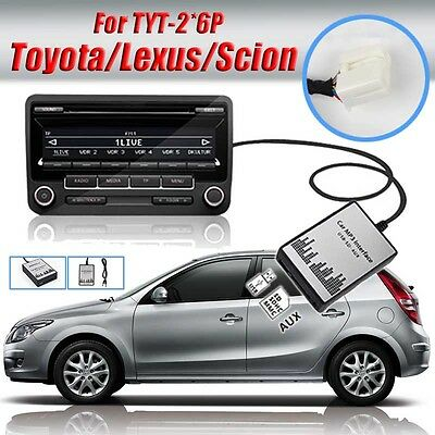 1set USB SD AUX Car MP3 Adapter Audio Interface CD Changer for Toyota 2*6 Camry