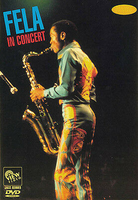 Fela in Concert Live in Paris 1981 Tenor Sax Music Performance Video DVD NEW