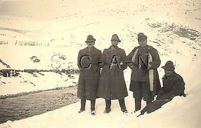 WWII Italian Photo- Regia Esercito- Fascist Era- Elite Alpine Mountain Troops