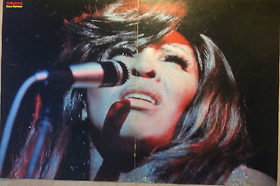 1 german poster TINA TURNER LIVE NOT SHIRTLESS ROCK BOY GIRL BAND BOYS 70`s