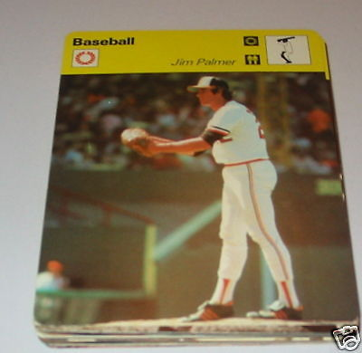 Baseball - Jim Palmer SC Collector card