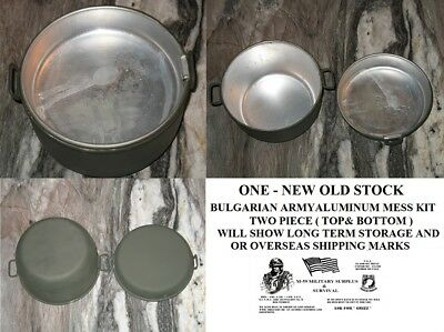 European Military 5 Pc. Aluminum & Plastic Mess Kit + 3 Pc. Chow Set- N.o.stock
