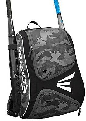 Easton E110BP Black / Camo Bat Pack Backpack Equipment Bag Baseball / Softball