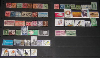 Ireland hi val selection 57 diff stamps cv $148