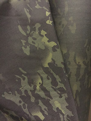 Crye MultiCam Black™ 500d Cordura - Military Specification material