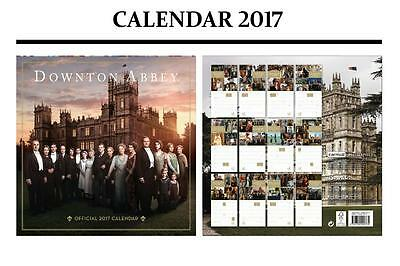 Downton Abbey Official Calendar 2017 + Downton Abbey Fridge Magnet