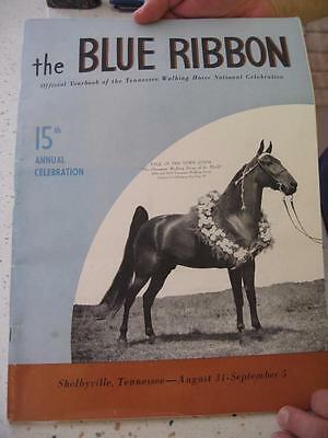 1953 The Blue Ribbon, 15Th Annual Celebration Yearbook, Shelbyville, Tennessee