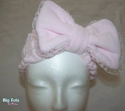 Adult Baby Sissy Big Bow Headband . *Big Tots by MsL*