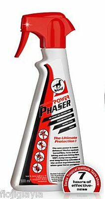LEOVET POWER PHASER FLY SPRAY 500ml  7 HOURS GUARANTEED PROTECTION