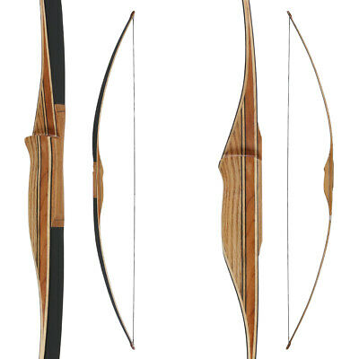 Langbogen traditioneller Longbow BUCK TRAIL Black Hawk - 68 Zoll - 30-50 lbs