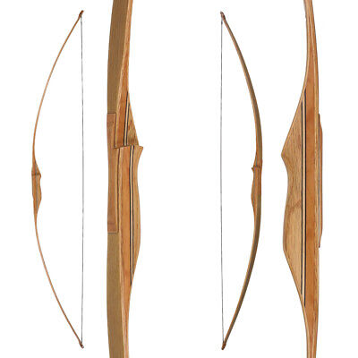 Langbogen traditioneller Longbow BUCK TRAIL Falcon - 68 Zoll - 30-60 lbs inkl. S